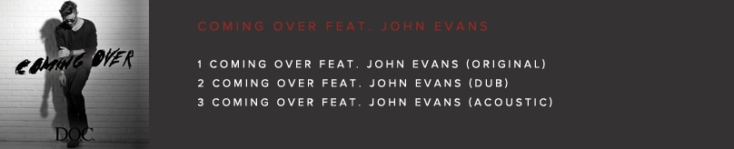 COMING OVER FEAT. JOHN EVANS